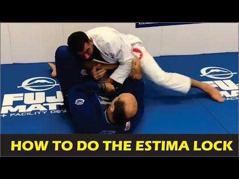 How To Do The Estima Lock by Braulio Estima (The Creator Of The Estima Lock)