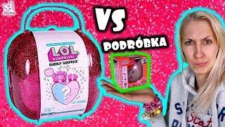 Podróbki LOL z CHIŃCZYKA vs BUBBLY LOL SURPRISE  Lalce odpadła GLOWA!!!  Laleczki Niespodzianki
