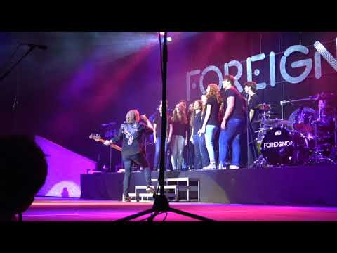 HC Vocal Ensemble Sings with Foreigner