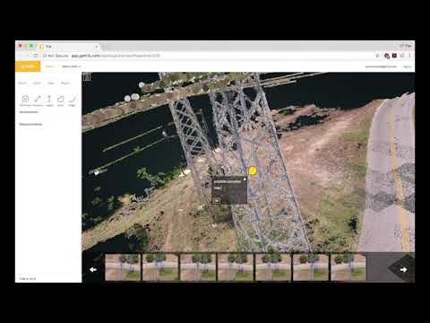 Trik 3D mapping software: power line inspection by drone