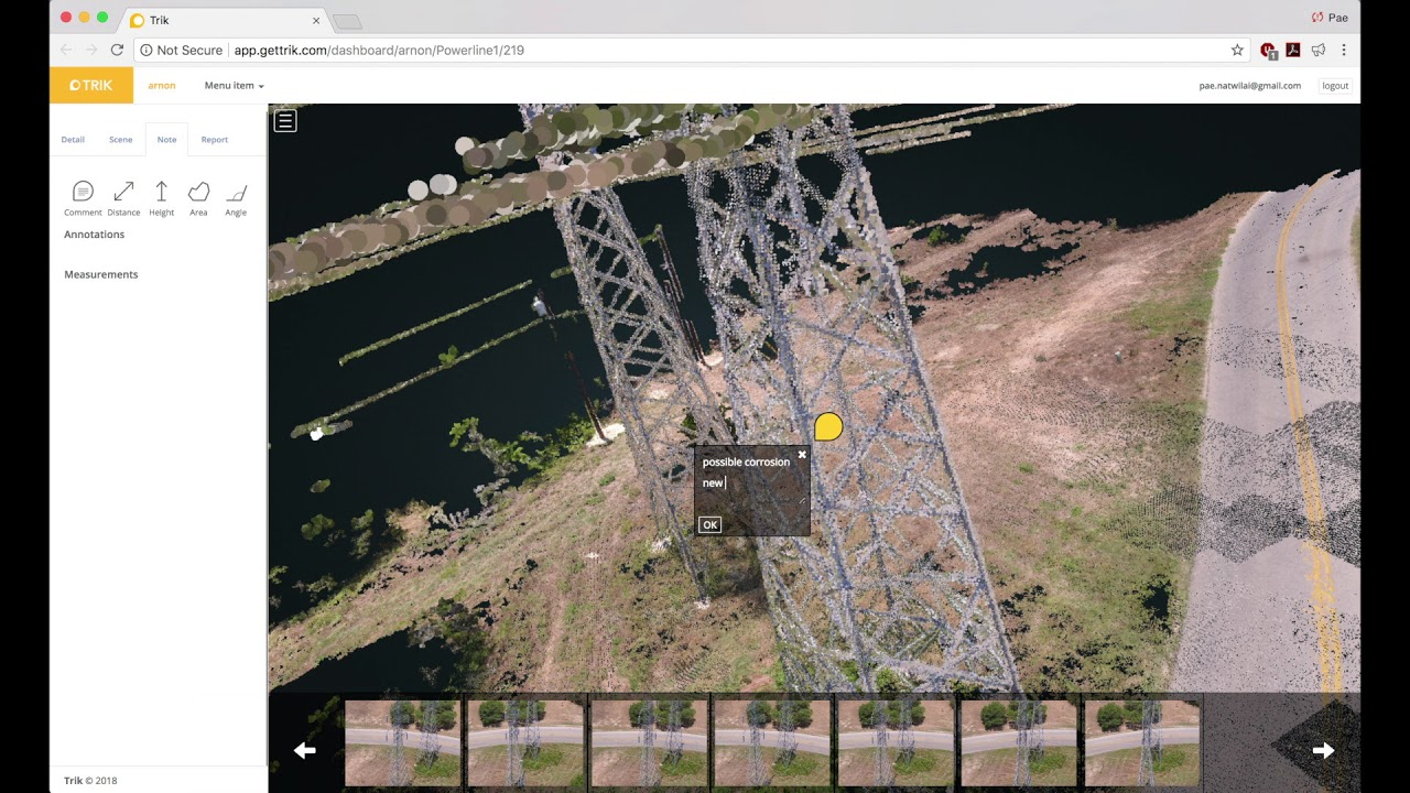 Trik D Mapping Software Power Line Inspection By Drone YouTube - 3d mapping software