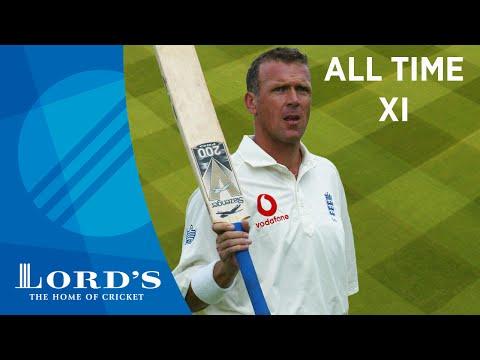 Gooch, Waugh & Ambrose - Alec Stewart's All Time XI
