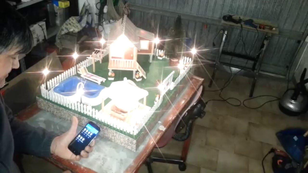 Arduino modello casa domotica youtube