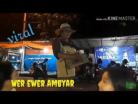 Viral Bencong Nyanyikan Lagu Wik Wik Ewer Ewer Ambyar
