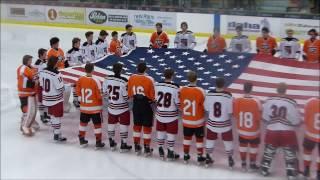 Grand Rapids Hockey vs Duluth East-Jan 2017-East Wins 5 to 0