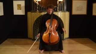 Zoltán Kodály Sonata for cello solo Op.8, Allegro Molto Vivace