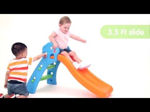 BEN HOME 美國 Grown up 溜滑梯 趣味摺疊 室內小溜滑梯 (紫) 限時特價1699元-現貨