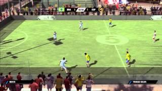 Xbox 360 Fifa Street 3 Gameplay #2