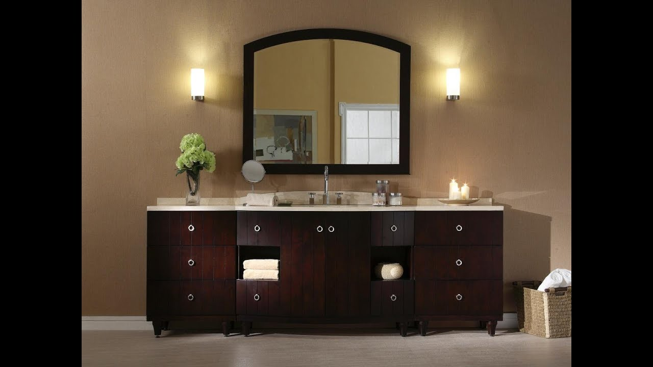 Bathroom Lighting Up Or Down bathroom vanity lights up or down, - youtube