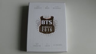 Unboxing BTS (Bangtan Boys) 방탄소년단 Memories of 2015 DVD