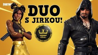 DUO WITH JIRKA KRÁL - Fortnite Battle Royale