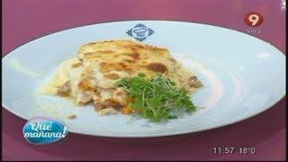 Hoy Cocinamos: Lasaña Con Salsa Bolognesa