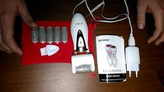 Какую пилку для пяток купить? Электрическая роликовая пилка для ног drnicer с AliExpress. Обзор