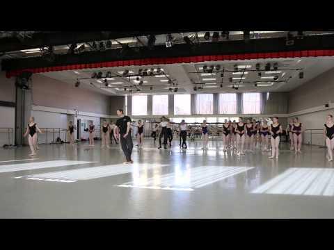 Lindsay Fischer Master Class a the Kirov Academy of Ballet