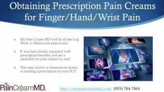 Prescription Pain Cream for Hand, Finger & Wrist Pain (855) 784-7864 Thumbnail
