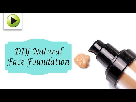 DIY Natural Face Foundation