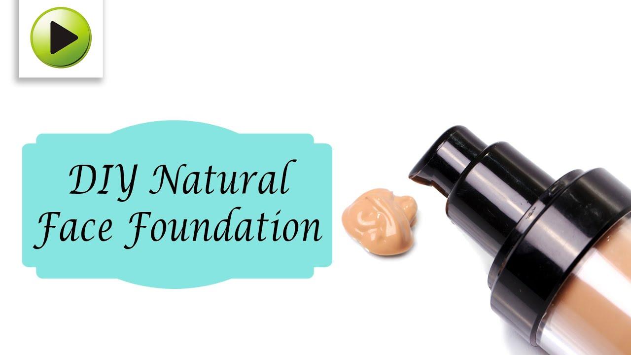 Diy natural face foundation youtube solutioingenieria Images