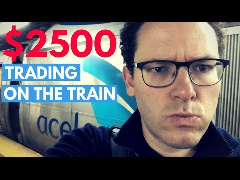 How I Made $2,500 During My Train Ride Yesterday