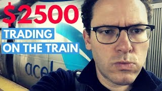 How I Made $2,500 Trading Penny Stocks On My Train Ride Yesterday*