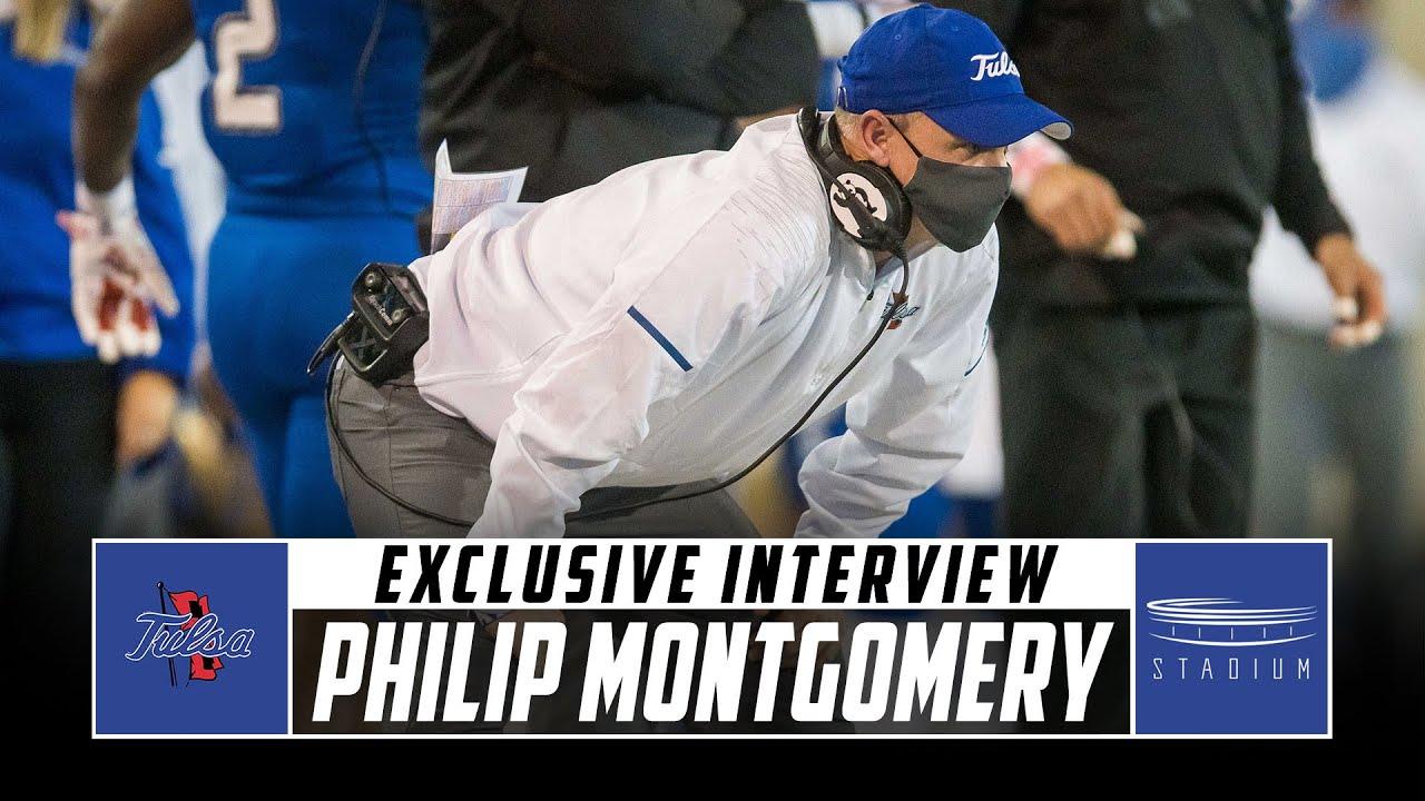 Tulsa Head Football Coach Philip Montgomery Discusses His Team's 2020 Season | Stadium
