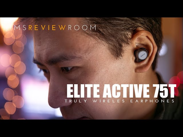 Jabra 75t Elite Active Truly Wireless Earphone Review Youtube
