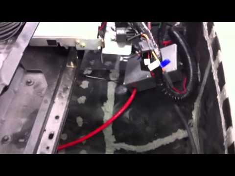 65 mustang restoration - under dash wiring work