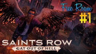 Saints Row Gat Out of Hell Free Roam Gameplay #1 - Most Random Game!