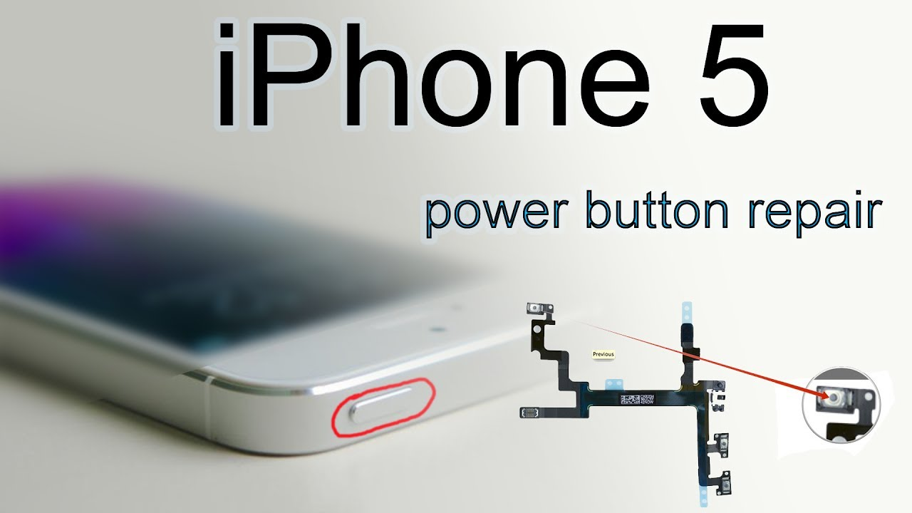 iphone power button not working iphone 5 power button repair 17686