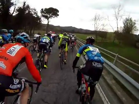 1° parte Gran Fondo Davide Cassani Go Pro On-Board 28/03/2016