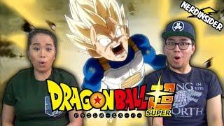 DRAGON BALL SUPER English Dub Episode 16 WHIS TRAINS VEGETA REACTION & REVIEW