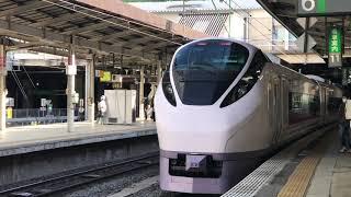 クラブツーリズム団体臨時❗️国鉄色E653系が仙台へやって来た❗️折り返しはE657系ひたち26号 E653は14 時39分仙台到着でした。2021.4.11