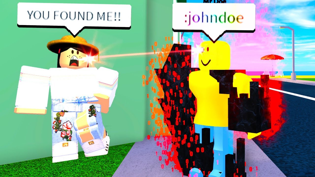 HIDE AND SEEK WITH JOHN DOE COMMAND! (Roblox)