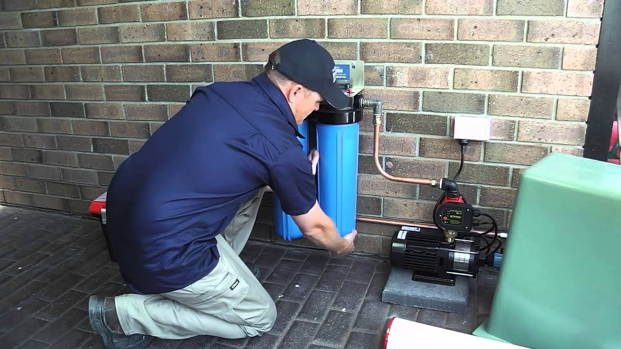Rainwater Tank Cleaning And Water Filtration Youtube