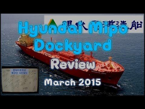 Hyundai Mipo Dockyard Co.,Ltd. Stock Value Review - March 2015 (No BGM)