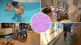 Schwimmbad Ausflug |AquaTragehilfe |Weihnachtsgeschenke für die Kids |VLOG |Kathis Daily Life
