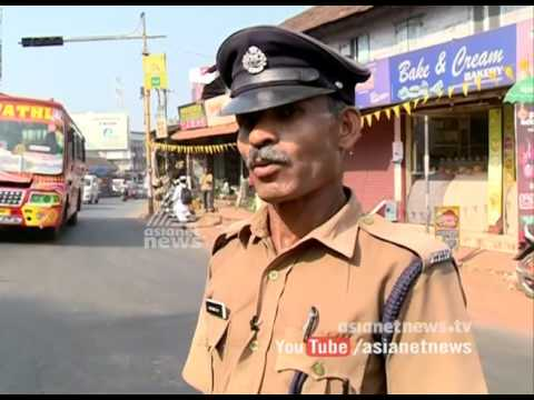Home Guard Madhavan solves hectic traffic block at Kannur