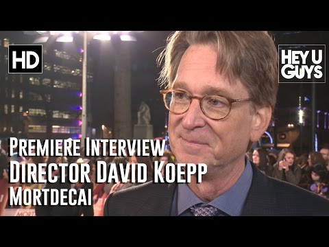 Director David Koepp   Mortdecai UK Premiere