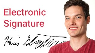 How to make Electronic Signature
