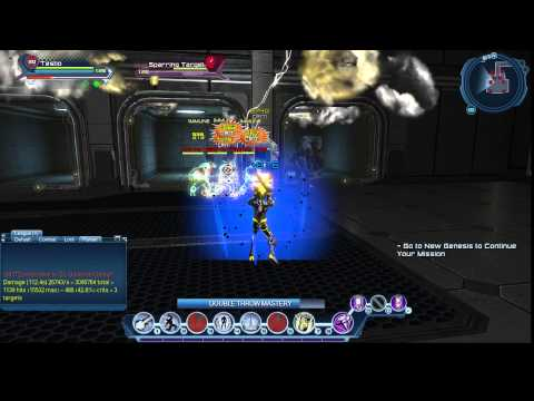 dcuo test server gu50 electric dps multi target youtube