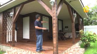 Гостевой дом с верандой для барбекю  FORUMHOUSE