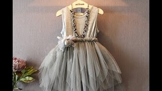 TODDLER Girl dress REVIEW ALIEXPRESS