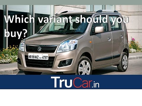 Maruti Suzuki Wagon R Variants Explain LXi, VXi, VXi+, Automatic in हिन्दी | Trucar India