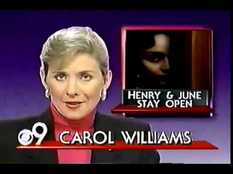 WCPO 1990 News on Controversial Movies - Cincinnati Ohio 80s 90s