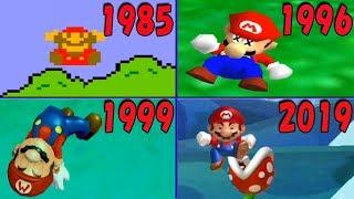 マリオ死亡&ゲームオーバー 進化の歴史【1985-2019】