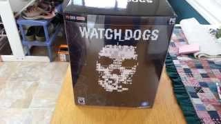 Watch Dogs Limited Edition Unboxing PC 1080p