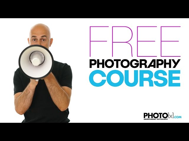 Free PHOTOGRAPHY COURSE, learn everything you need to know about photography in short free lessons