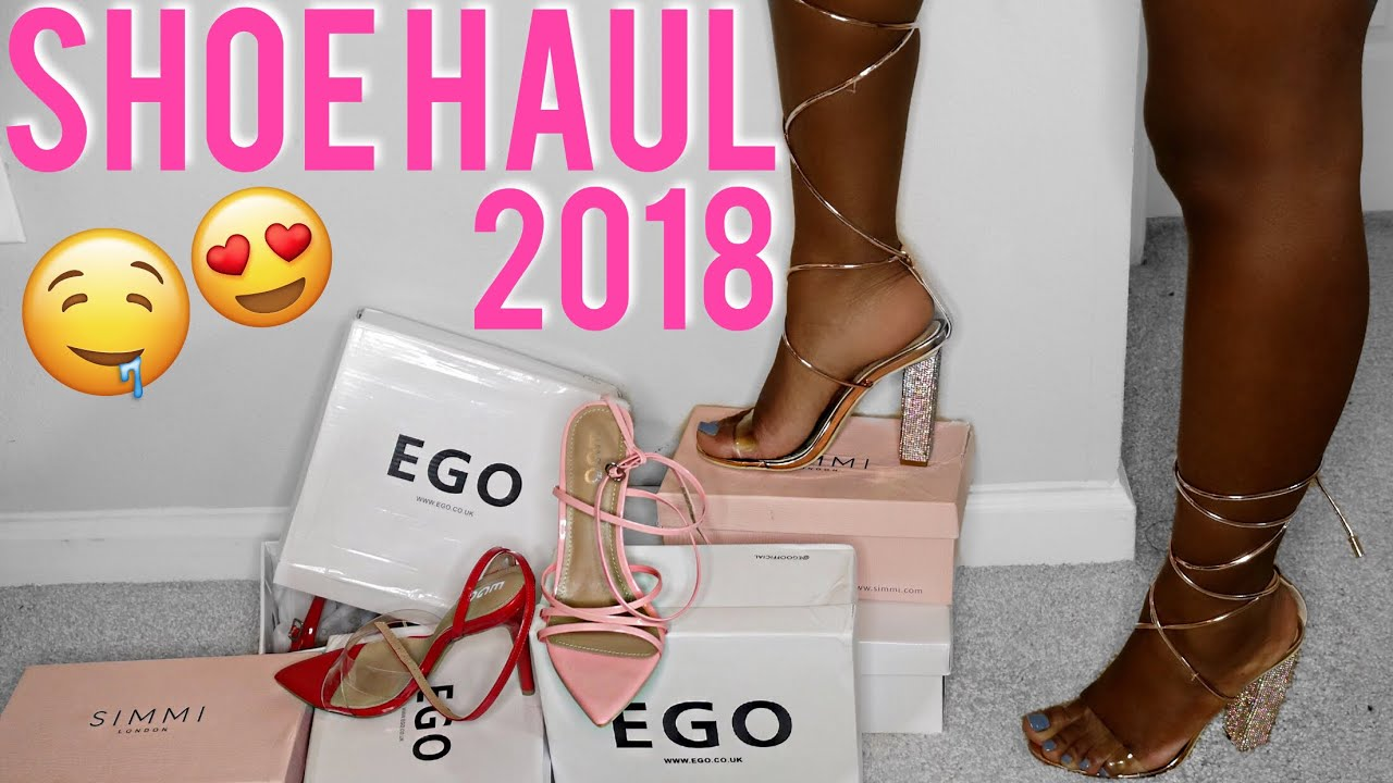 e44cc63572 Collective Shoe Haul ft. Simmi Shoes & EGO Shoes | Try On Haul 2018 ...