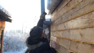 Вентиляция в сарае видео