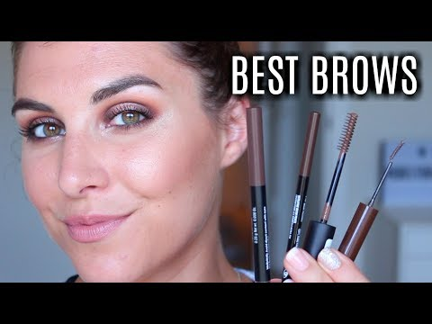 4 Best Brow Products (ALL DRUGSTORE) | Bailey B.