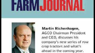 Farm Journal: AGCO CEO Discusses New Series of Row Crop Tractors